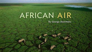 African Air por George Steinmetz
