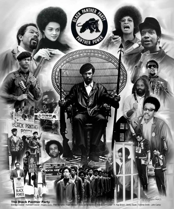 Black Panther Party B-1036 - Wishum Gregory