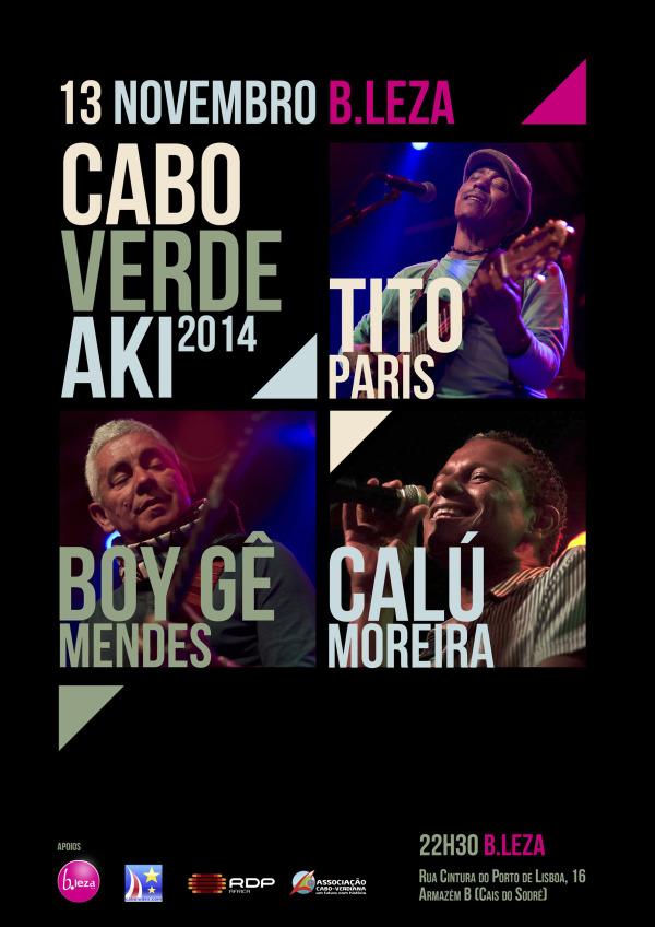 Cabo Verde Aki 2014 - Cartaz