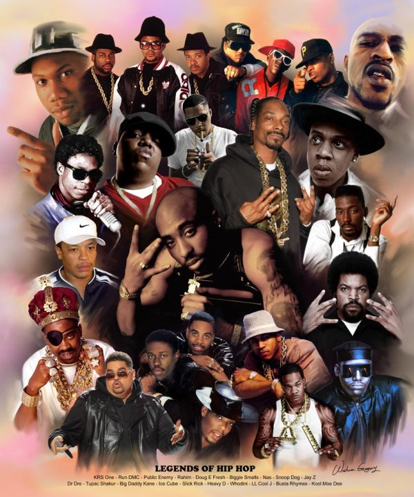 Hip Hop Legends B-1535 - Wishum Gregory