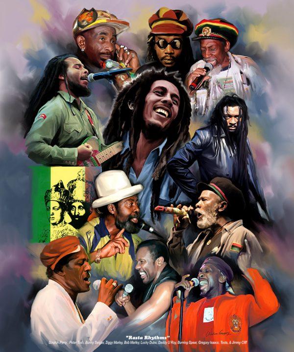 Reggae Legends N-633 - Wishum Gregory