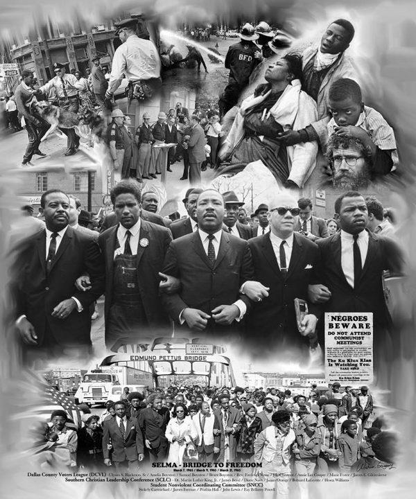 Selma Bridge to Freedom B-2601 - Wishum Gregory