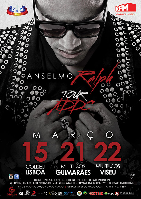 "Anselmo Ralph - ""A Dor do Cupido"" Tour"