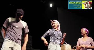Peça de Teatro Chuva Brava da Juventude em Marcha