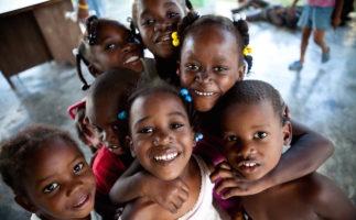 Crianças cabo-verdianas
