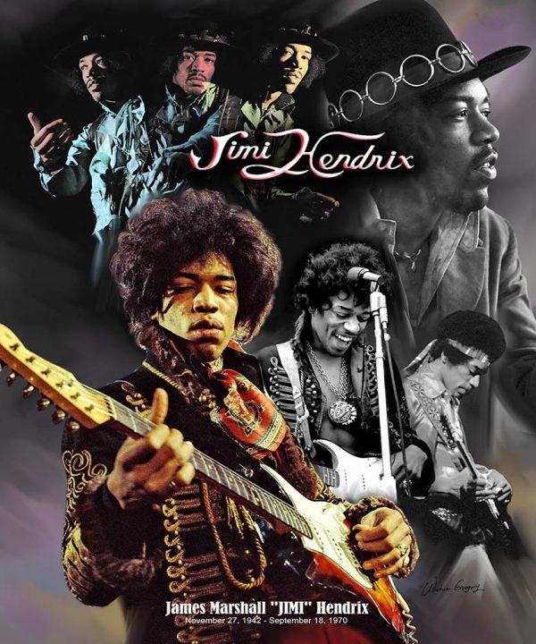 Jimi Hendrix B-4133 - Wishum Gregory