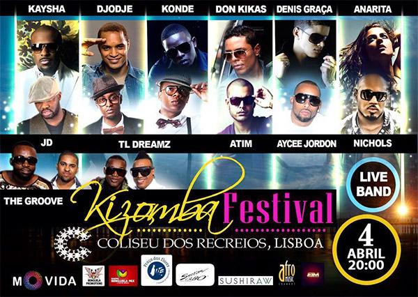 Kizomba Festival Lisboa no Coliseu dos Recreios