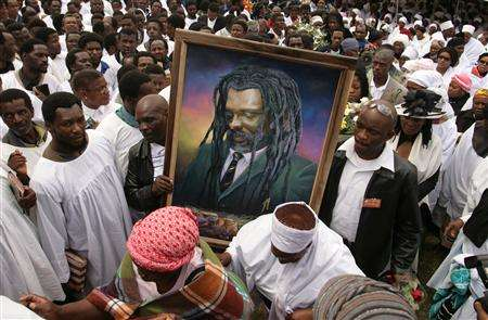 O funeral do Lucky Dube
