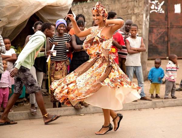 Rita Pereia em Mocambique