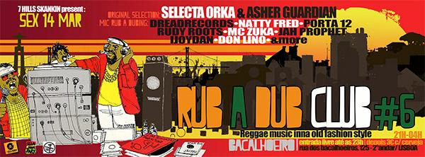 Rub a Dub Club 6