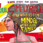 Simply Rockers Sound System convida Mindel Reggae Family