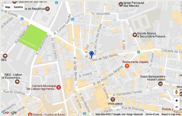 Cabo-verdianos de São Bento - Triângulo Rua de São Bento - Poiais de São Bento e Poço dos Negros